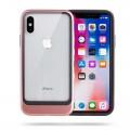 Apple iPhone X Kılıf Roar Ace Hybrid Ultra Thin Back Cover