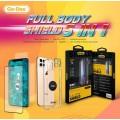 Galaxy Note 8 Go Des 5 in 1 Full Body Shield Ekran Koruyucu